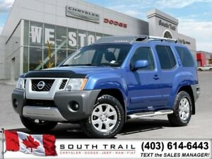 2012 Nissan Xterra 4.0L V6, EXT WARRANTY, NO ACCIDENTS, $206B/W