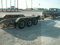 Triple Axle equipment trailer with Ramps - SAFETIED