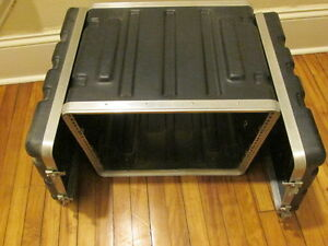SKB Outboard 8U Rackmount Outboard Sound Equipment Effects Case