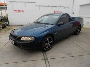 2002 HOLDEN VU SERIES II COMMODORE UTE 5 SPEED Hendon Charles Sturt Area Preview