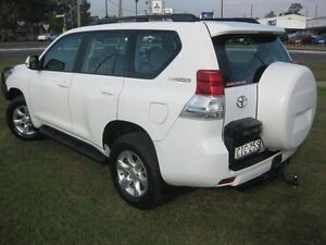 2011 Toyota Landcruiser Prado KDJ150R GXL (4x4) White 6 Speed Manual Wagon South Grafton Clarence Valley Preview