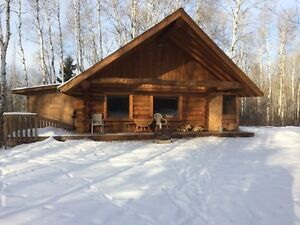 LOG CABIN TO BE MOVED