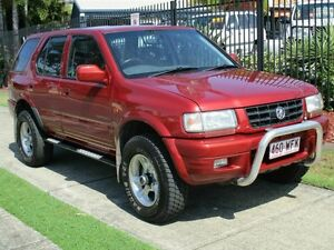 1999 Holden Frontera MX S (4x4) Red 5 Speed Manual 4x4 Wagon Springwood Logan Area Preview