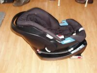 Mamas and Papas baby car seat with isofix base