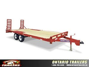 Sure-Trac Low Profile Flatbed & Beavertail Deckover 9990 LB GVWR