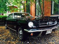 RARE TRI COLOUR CAR = 65 MUSTANG CONVERTIBLE= ONE OWNER CAR