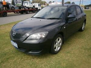 2005 Mazda 3 Auto 5 door hat #3717 Black Automatic Hatchback Maddington Gosnells Area Preview