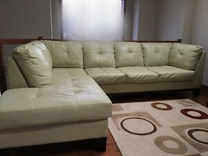 Premium Leather Couch