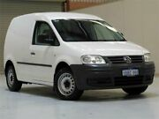 2008 Volkswagen Caddy 2KN SWB White 5 Speed Manual Van Bibra Lake Cockburn Area Preview