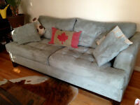 Couch and Love Seat -  Cindy Crawford furniture, super deal