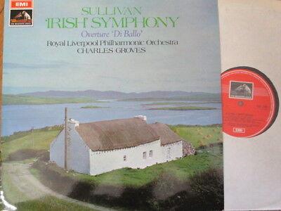 ASD 2435 Sullivan Irish Symphony / Overture Di Ballo / Groves / RLPO
