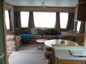 6 Berth / 3 Bedroom / 1 Double / 2 Twin bedrooms to let on Quiet family run site in Bacton, Norfolk