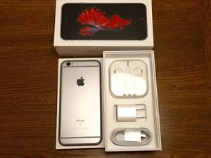 Unlocked iPhone 6s Plus- 64 GB with accessories and applecare