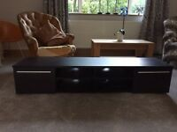 TV Unit - Black - 160cm Wide