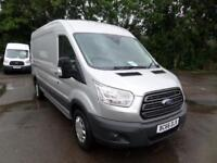 Ford Transit T350 L3 H2 2.2 Tdci 125Ps Trend EURO 5 DIESEL MANUAL SILVER (2016)