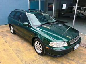 2000 Volvo V40 2.0T SE Green 4 Speed Automatic Wagon Hobart CBD Hobart City Preview