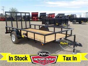 3K - 6.5 x 12 Single Axle Utility by Big Tex Trailers