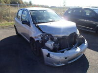 parting out 2004 toyota echo