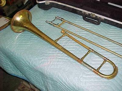 Vintage Getzen Tone Balanced Super Deluxe Trombone in Good Playing Condition.