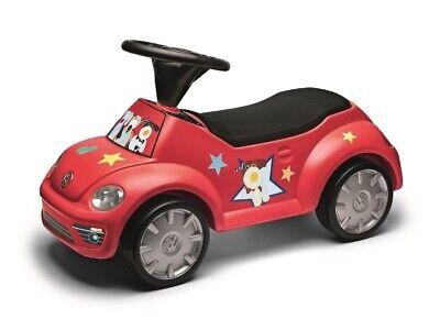 VW Volkswagen Bobbycar Junior Beetle rot Rutscheauto 5C0087500B* gebraucht kaufen  Deutschland