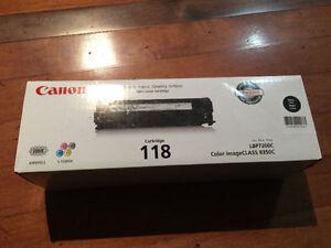 Canon 118 Black Toner