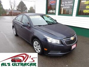 2014 Chevrolet Cruze 1LT only $110 bi-weekly all in!