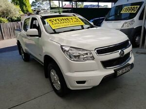 2012 Holden Colorado RG MY13 LT White Auto Sports Mode 4D UTILITY Five Dock Canada Bay Area Preview