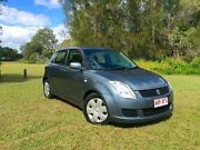 2007 Suzuki Swift RS415 Grey 5 Speed Manual Hatchback Springwood Logan Area Preview