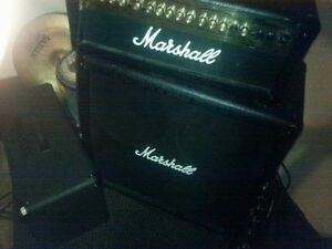 Marshall MG HDFX100 half stack (head+cab) Tête+Cab