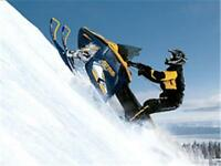 GET CASH FOR YOUR USED SNOWMOBILE!