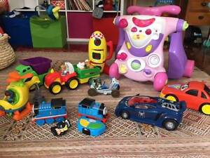 Bulk Toys 2-4 years (Thomas, peppa pig, little people) North Balgowlah Manly Area Preview