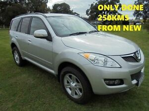 2013 Great Wall X240 CC6461KY MY11 4X4 ONLY 250KMS Silver 5 Speed Manual Wagon Wangara Wanneroo Area Preview