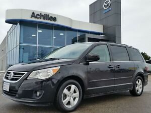 2009 Volkswagen Routan Highline, Leather, RES