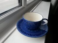 """Whittard """"tea clipper"""" cup and saucer"""
