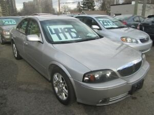 2005 Lincoln LS ONLY 148,000 klm's.!