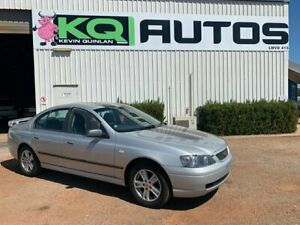2005 Ford Falcon BA Mk II XT Silver 4 Speed Sports Automatic Sedan Durack Palmerston Area Preview