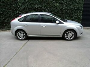 2008 Ford Focus LT Zetec Silver 4 Speed Sports Automatic Hatchback Collingwood Yarra Area Preview