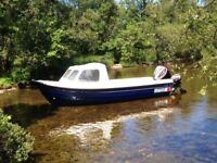 Orkney Fisherman 520 Hull blue, deck and cuddy white