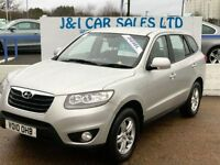 HYUNDAI SANTA FE 2.2 STYLE CRDI 5d 194 BHP PRICED LOW FOR GREAT VAL (silver) 2010