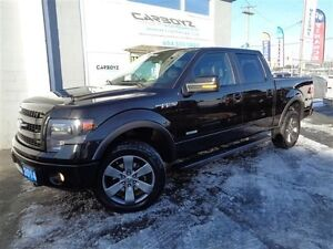 2014 Ford F-150 FX4 Crew, EcoBoost, Nav, Sunroof, Leather