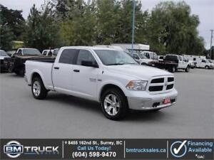 2016 RAM 1500 OUTDOORSMAN CREW CAB LOADED 4X4 5.7L HEMI V8