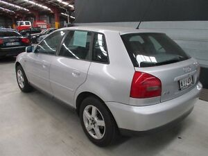 2000 Audi A3 8L MY2000 Silver 5 Speed Manual Hatchback Maryville Newcastle Area Preview