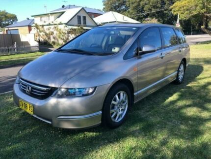 2005 Honda Odyssey 20 Luxury Beige 5 Speed Sequential Auto Wagon Broadmeadow Newcastle Area Preview