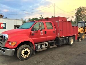 2007 Ford F650XL Super Duty Pro Loader SA Utility Truck