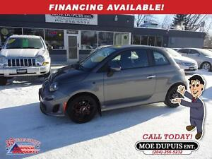 2013 FIAT 500 Sport Turbo,ONLY 28 000KMS!!