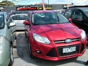 2014 Ford Focus LW MK2 Upgrade Trend 6 Speed Automatic Sedan Coburg North Moreland Area Preview