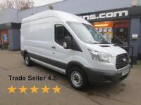 2015 Ford Transit T350 2.2TDCi 125ps L3H3 LWB HR E/W Diesel white Manual