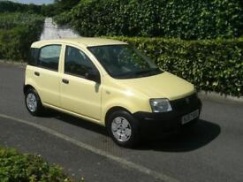 FIAT PANDA 1.1 ACTIVE 2007 (57) 5 DOOR IMMACULATE CONDITION 60,000 MILES F/S/H