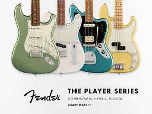 Fender Player Series at www.ardensmusic.com!