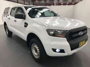 2017 Ford Ranger PX MKII XL DOUBLE CAB 4X2 HI-RIDER White Steptronic Dual Cab Utility Fyshwick South Canberra Preview